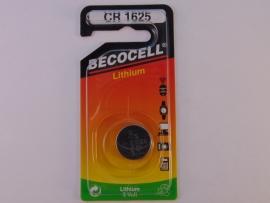 Lithium knoopcel CR 1625