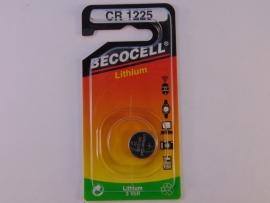 Lithium knoopcel CR 1225