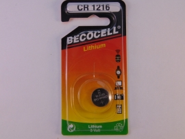 Lithium knoopcel CR 1216