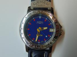 Camel Trophy herenhorloge blauw