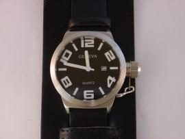Geneva XXL horloge met onderdoor band
