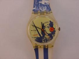Kunststof Swatch horloge
