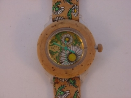 Nice watch dames kurkhorloge