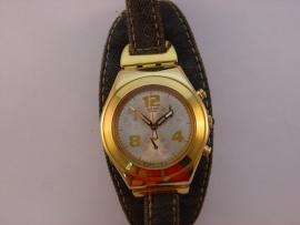 SWATCH IRONY dames chronograaf double