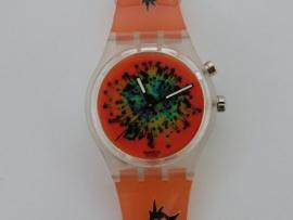 Kunststof nieuw Swatch horloge