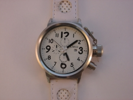XXL horloges met witte band