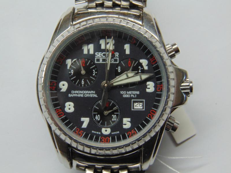 Sector 900 chronograaf