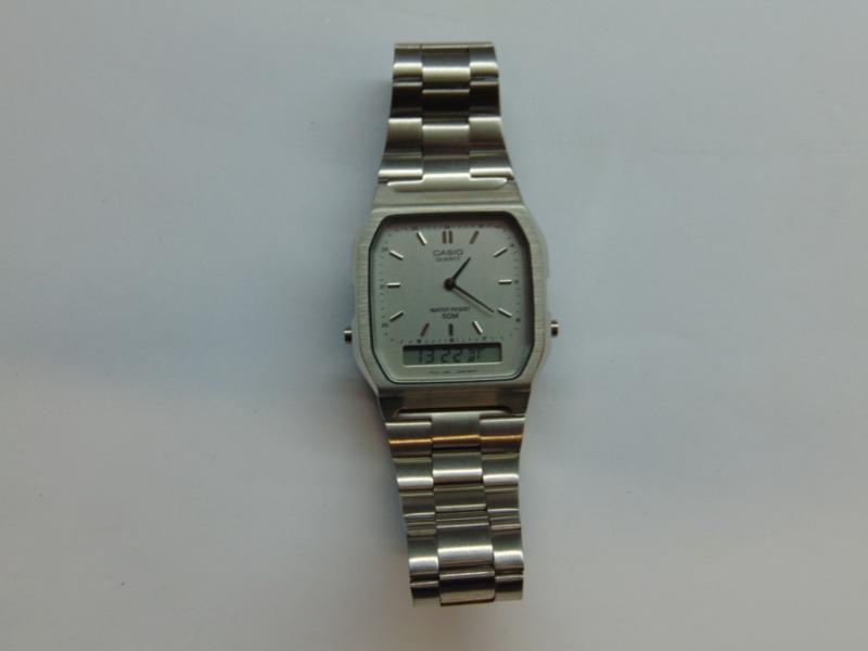 Casio anna/digi horloge