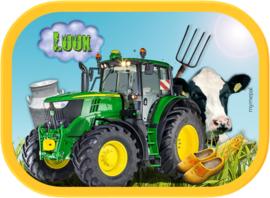 Mepal broodtrommel Traktor Koe John Deere