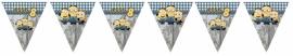 Kinderfeest vlaggenslinger Verschrikkelijke Ikke Minion