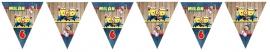 Kinderfeest vlaggenslinger Verschrikkelijke Ikke Minions party