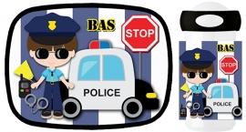 Set broodtrommel en drinkbeker Politie!