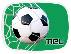 Broodtrommel Voetbal Goal! groen
