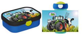 Set Mepal broodtrommel en beker traktor enzo Sven