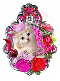 Strijkapplicatie Special: Kitten