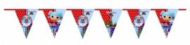 Kinderfeest vlaggenslinger Lalaloopsy Marina