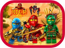 Mepal broodtrommel Lego Ninjago (op verzoek)