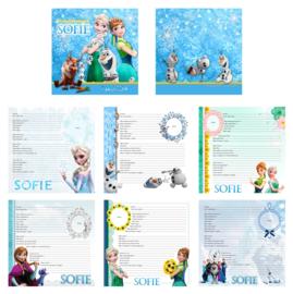 Vriendenboekje Frozen  met naam (en evt foto)