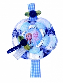 Tashanger of Broche Frozen Anna en Elsa