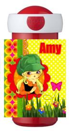 Drinkbeker Flower Power Amy