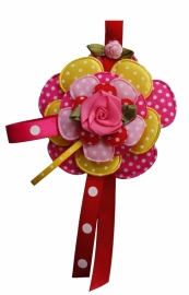 Broche Sweet flowers zomers