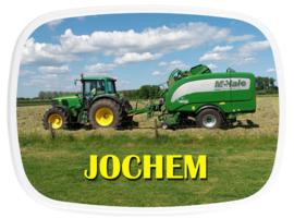 Mepal broodtrommel traktor balenpers