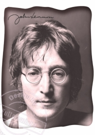 FOR THE LADY`S!!! strijkapplicatie John Lennon, ± 20 cm