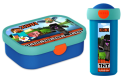 Set broodtrommel en drinkbeker Minecraft TNT