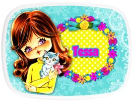 Broodtrommel Tessa Retro