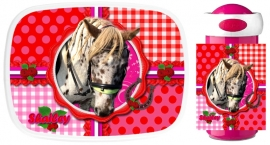 Set Mepal broodtrommel en drinkbeker Horse Shailey