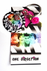 Canvas hanger One Direction met bottlecap