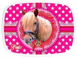 Broodtrommel Cute Horse Femke