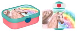 Mepal broodtrommel en drinkbeker Unicorn Rainbow