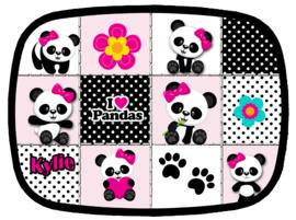 Broodtrommel Panda Patchwork