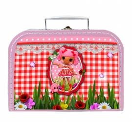 Kinderkoffertje Lalaloopsy Sweet roze