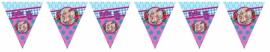 Kinderfeest vlaggenslinger Kylie