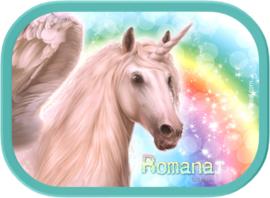 Mepal broodtrommel Unicorn Rainbow