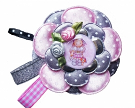 Broche Charming girl Pirate