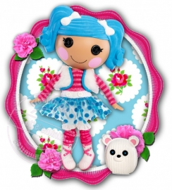Strijkapplicatie Lalaloopsy Colour Dream
