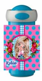 Drinkbeker Mepal Kylie turquoise/ roze