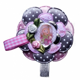 Broche Charming girl Chloe