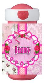 Drinkbeker Jamy pink