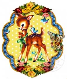 Strijkapplicatie Very Vintage Deer