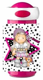 Set Mepal broodtrommel en drinkbeker Charming Pirate Girl met naam