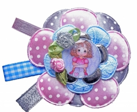 Broche Charming girl Charly