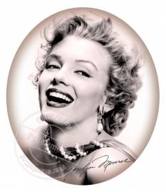 FOR THE LADY`S!!! strijkapplicatie Marilyn Monroe, ± 20 cm