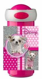 Drinkbeker Chihuahua pink glitter