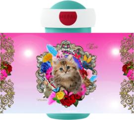 Drinkbeker Kitten Art