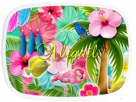 Mepal broodtrommel Tropical Abigail