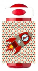 Mepal Drinkbeker Raket rood